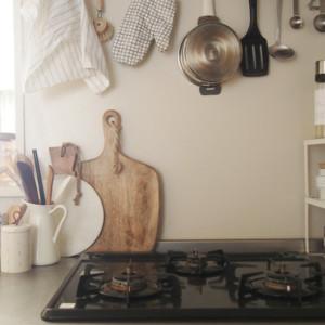 キッチンツール収納はおしゃれに見せるが正解