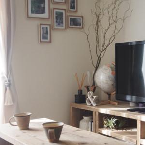 インパクト大な雲竜柳を部屋に飾って空間のポイントに