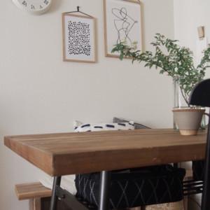 テーブルは天板の塗装にも注目して選ぼう