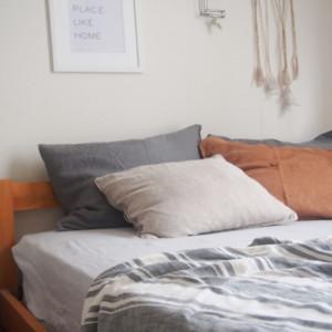 リネン素材の寝具はH&Mホームのセールが狙い目!