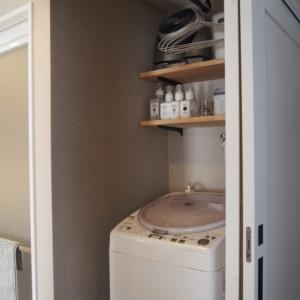 洗濯の洗う干す仕舞うが楽な導線で毎日の家事が快適!